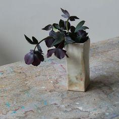 Black Hellebores in a Cecile Daladier Vase