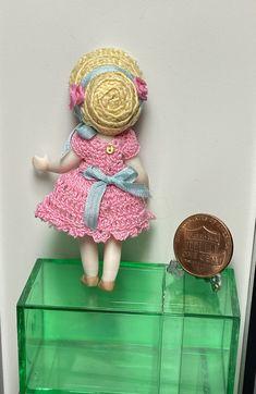 Crochet Clothes, Hand Crochet, Dolls, Mini, Handmade, Home Decor, Baby Dolls, Hand Made, Decoration Home