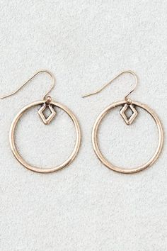 Chic hoops for any outfit.