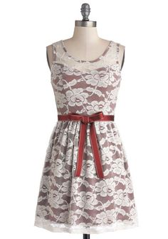 Abundant Beauty Dress. Your look overflows with glamour and charm as you slip into this sleeveless, lace dress! #multi #modcloth  http://www.modcloth.com/shop/dresses/abundant-beauty-dress
