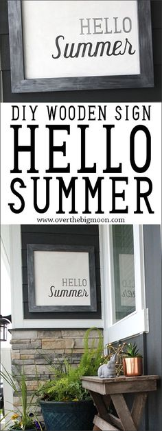 DIY Hello Summer Dec