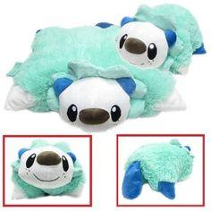 Pokemon Pillow Cushion, Oshawott Pillow Pet, Pillow Pad