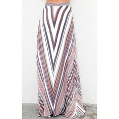 Beyond Vintage Maxi Circle Skirt found on Polyvore