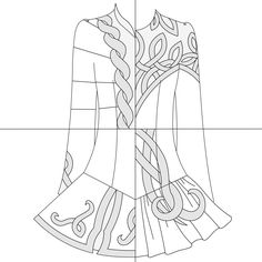 irish step dancing coloring pages - photo#22