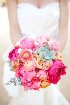 Colorful Bouquet. Perfect for the Summer.