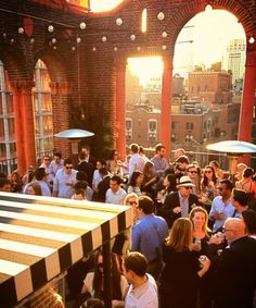 Enjoy a drink with a view at one of these NYC bars.