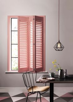 Modern interior shutters for every room - All About Decoration Modern Interior Shutters, Kitchen Color Palettes, Paint Shades, 50 Shades, Contemporary Decor, Interiores Design, Colorful Interiors, Interior Inspiration, Interior Decorating