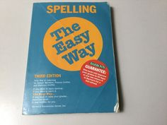 SPELLING THE EASY WAY, 3RD EDITION, PAPERBACK #WorkbookStudyGuide