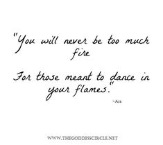 Love this!  I am a fire sign and this is so perfect!