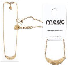ONE Cuma Imwe Pendant Necklace. Handmade in Kenya. #ONEMoms #MothersDay