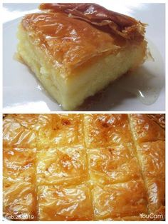 Greek Cake, Greek Sweets, Greek Recipes, Buffet, French Toast, Food And Drink, Pie, Pudding, Chocolate