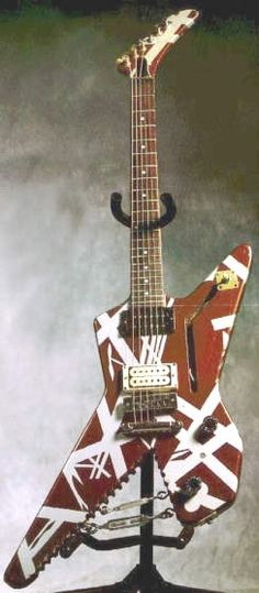 The Eddie Van Halen guitar from WOMEN AND CHILDREN FIRST (or whatever--I'm not a…