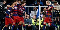 El Clasico Real Madrid 0-4 Barcelona Liga Spanyol