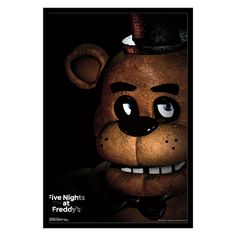 Trends International Five Nights At Freddys Freddy Wall Poster - FR14565BLK22X34