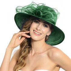 181c6990bf5 Lightweight Kentucky Derby Church Dress Wedding Party Formal Ocasion Hat in  Clothing