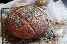 Kváskový chlieb pre začiatočníkov - Chuť od Naty Recipe Images, Food And Drink, Bread, Baking, Brot, Bakken, Breads, Backen, Buns