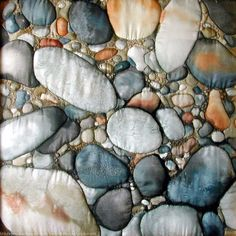 brighton pebbles by Diane Rogers