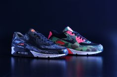 Nike Air Max 90 Premium Camo Pack *atmos Exclusive Preview