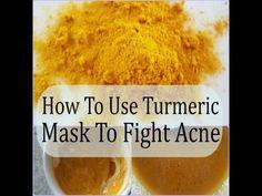 DIY: Turmeric Face Mask #DIY #Turmeric #Face #Mask