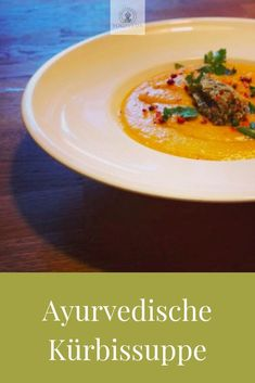 Ayurvedic pumpkin soup with red lentils - an autumn dish - Yogiveda - . - Ayurvedic pumpkin soup with red lentils – an autumn dish – Yogiveda – - # Detox Recipes, Fall Recipes, Soup Recipes, Dinner Recipes, Healthy Recipes, Lentil Recipes, Detox Salad, Fall Dishes, Cheap Dinners