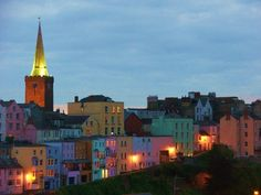 ~ twilight in Tenby ~ Wales ~