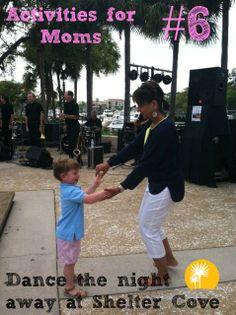 Enjoy live music and dancing at Shelter Cove Harbour - Activities for #Moms