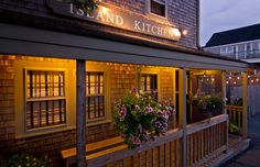 Island Kitchen - Nantucket #Restaurant and Catering - Nantucket, MA. We look forward to welcoming you for breakfast, lunch and dinner seven days a week. We also can provide full service catering for your special events.