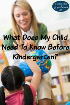 Have you ever wondered What Does My Child Need To Know Before Kindergarten? Here is a list of 45 Kindergarten readiness skills from a Kindergarten teacher.