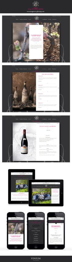 Situé à Vosne-Romanée, le Domaine Georges Mugneret-Gibourg est un domaine familial. C'est avec passion du pinot noir qu'il contribue à la richesse et diversité de son vignoble : www.mugneret-gibourg.com  #wine #vins #bourgogne #web #webdesign #design #mugneret-gibourg #vosne-romanee