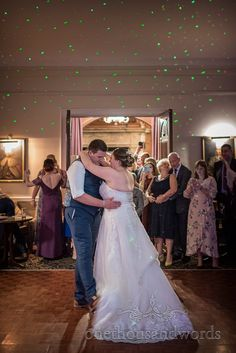 Bride and groom take first dance at New Forest hotel wedding Forest Hotel, New Forest, Hotel Wedding Venues, Wedding Ceremony, Wedding Magician, Wedding First Dance, Father Daughter Dance, Wedding Breakfast, Wedding Prep