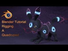 My first blender tutorial and Part 1 of my quadruped rigging in blender series. This part focuses on creating a basic forward kinemtatics rig in blender. The...