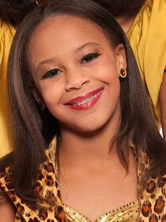 Nia Frazier.  Not the best dancer in the group, but she works hard.- Holley  I think it's amazing how much Nia has improved I'm no dance expert but he kicks are getting higher than maddies! She has worked so hard and it's paying off