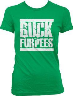 Crossfit, Buck Furpees Ladies Junior Fit T-shirt