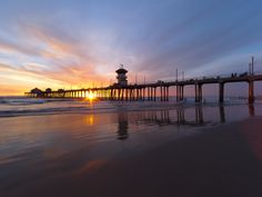 Known as Surf City, USA, Huntington is famous not just for the quality of its waves, but theconsiste... - Kesterhu / iStock