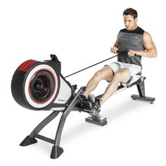 Marcy Turbine Rowing Machine. 8 RESISTANCE SETTINGS - The Marcy Magnetic Rowing Machine consists of eight levels of resistance that allow users to customize their workout from easy to intense. INCLUDES COMPUTER DISPLAY PANEL - This Magnetic Rowing Machine has a built-in display panel so that you can easily monitor your speed, distance, time, calories burned, and RPM. DURABLE MOULD-INJECTED SEAT - The Marcy Magnetic Rowing Machine is made with a durable ergonomically designed…