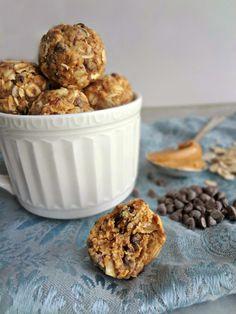 The Cooking Actress: Peanut Butter Oat Balls