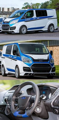 #Ford #TransitCustom #Van Gets #MSport Treatment http://www.fordtransitengines.co.uk/blog/category/transit-custom/