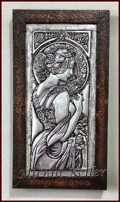 Aluminum Foil Crafts, Aluminum Metal, Tin Foil Art, Tin Art, Pewter Art, Pewter Metal, Metal Art Projects, Metal Crafts, Tin