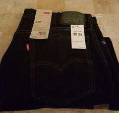 NWT Levis 517 Mens Boot Cut Jeans 38x34 Midnight Oil  | eBay