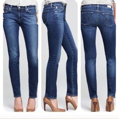 "Adriano Goldschm Stilt Cigarette Leg Jeans FINAL $ NWT Adriano Goldschm Stilt Cigarette Leg JeansSize 25Inseam 30""Low RiseStretch DenimI'm offering 30% bundles. Also, you can use the red dot 4/$20 items to make my discount of 30% kick in  Adriano Goldschm Jeans Skinny"