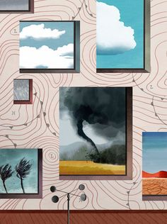 """From """"It was a dark and stormy night"""" to climate-change fiction, novelists have used the weather as a symbol and a warning."""