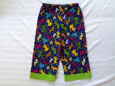 Cats and dots lounge pants  size 7/8 by EverSewSweet on Etsy, $13.00