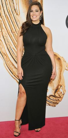9 Plus-Size Style Lessons to Learn from Ashley Graham - Less Is Often More from InStyle.com