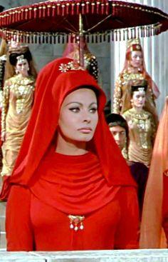 Sophia Loren ~ The Fall of the Roman Empire, 1964