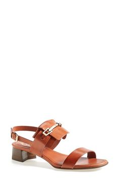 Tod's Leather Sandal (Women) available at #Nordstrom