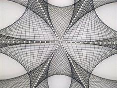 Abstracto arte Zen de la pared en gris plata 3D por FeniksArtDeco