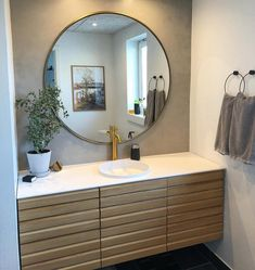 Scandinavian inspired bathroom decorated with KABE Concrete. Scandinavian Lighting, Bathroom Pictures, Bathroom Renos, Corner Bathtub, Concrete, Sweet Home, Contemporary, Interior, Furniture