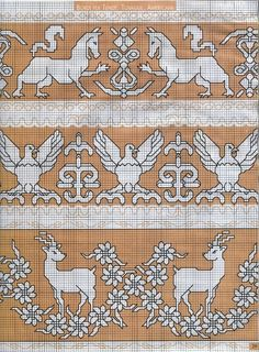~ Living a Beautiful Life ~ It Was a Work of Craft (Assissi work) Cross Stitch Numbers, Cross Stitch Bird, Cross Stitch Borders, Cross Stitch Alphabet, Cross Stitch Designs, Cross Stitch Patterns, Blackwork Embroidery, Diy Embroidery, Cross Stitch Embroidery