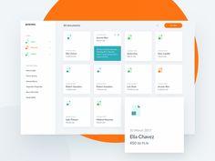 Clean interface with sidemenu