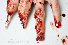 Cut off fingers, Freakmo SFX